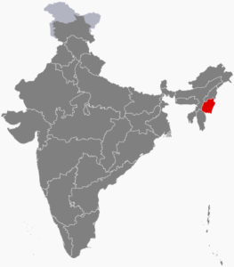 Manipur in Northeastern India