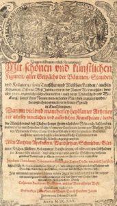"""Title page of Tabernaemontanus """"Neuw Vollkommentlich Kreuterbuch"""", 1625"""