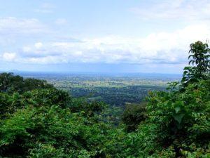 The Kilombero River floodplain of Tanzania, from Udzungwa Mountains National Park