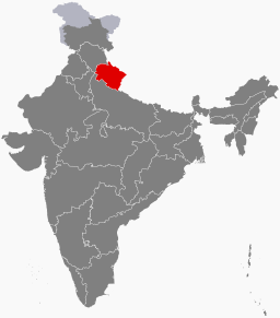 Uttarakhand State in Northwestern India
